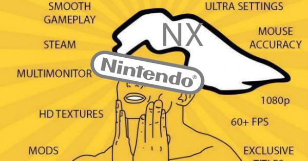 Nintendo NX sería tan potente como un Pc de gama alta
