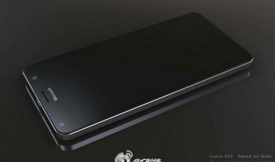 Nuevos renders confirman el diseño del Lumia 850