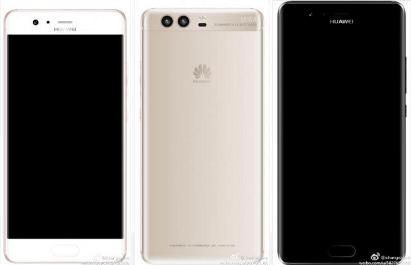 Posible diseño final del Huawei P10 se ha visto filtrado