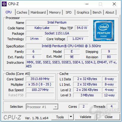 Intel-Pentium-G4560-CPUz-ComputerBase