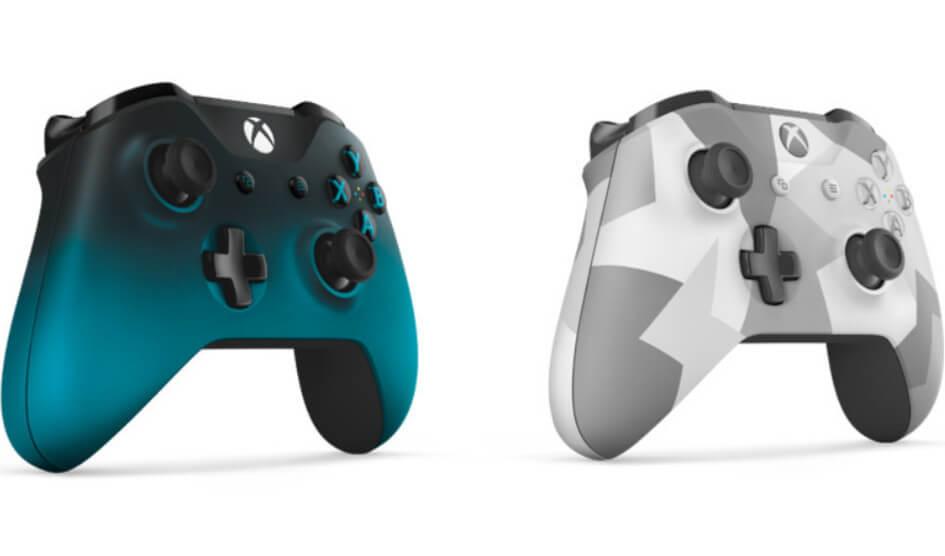 Microsoft revela dos nuevos mandos para Xbox One