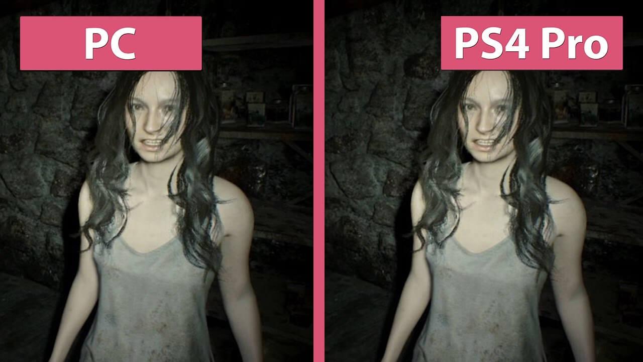 Comparativa de Resident Evil 7 a 4K entre PC y PS4 Pro