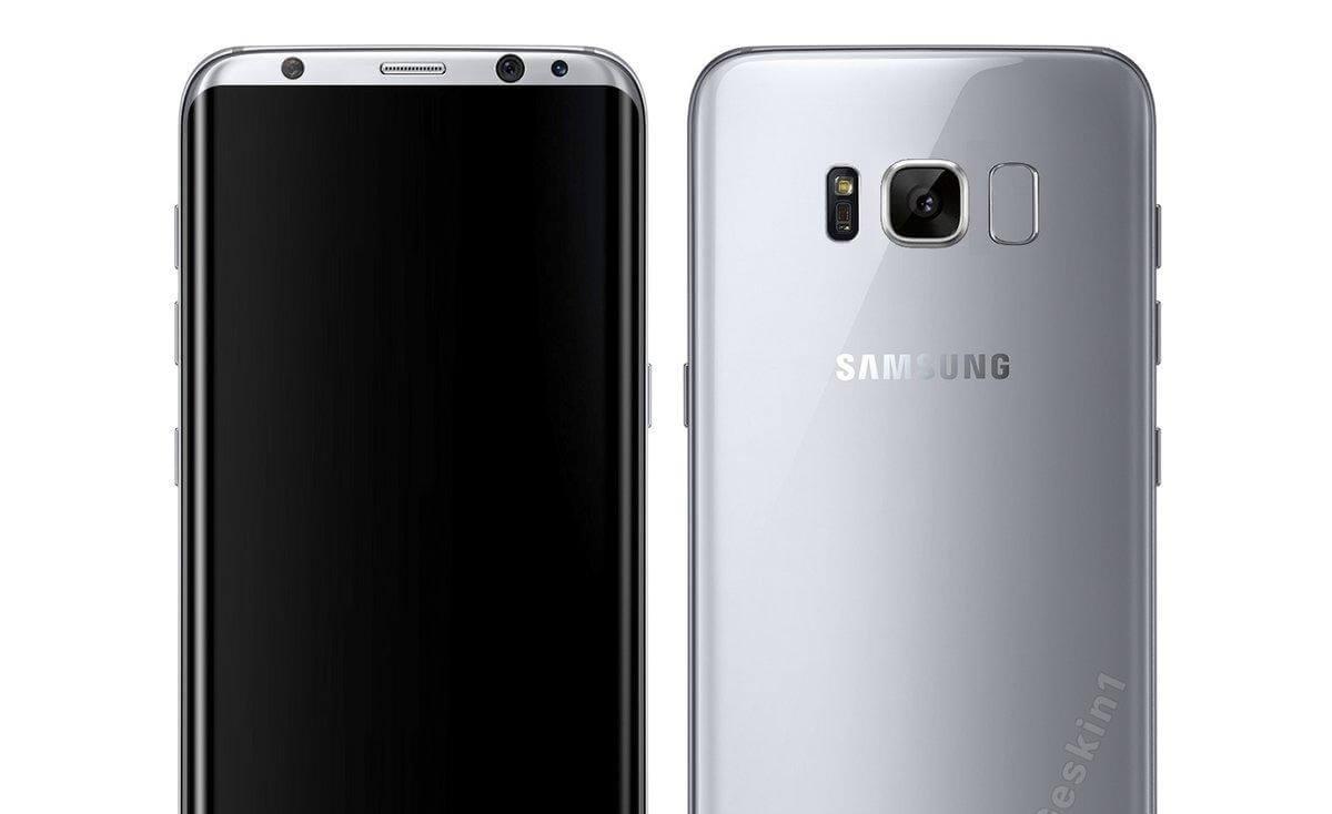 Se filtra el primer render oficial del Samsung Galaxy S8