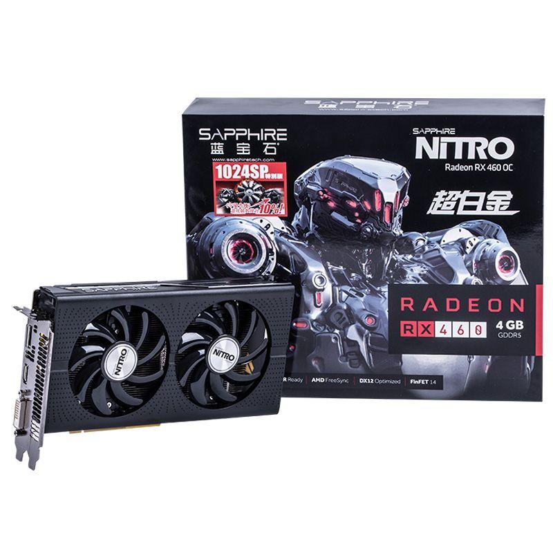 Sapphire Radeon RX 460 Nitro con 1024 Stream Processors anunciada