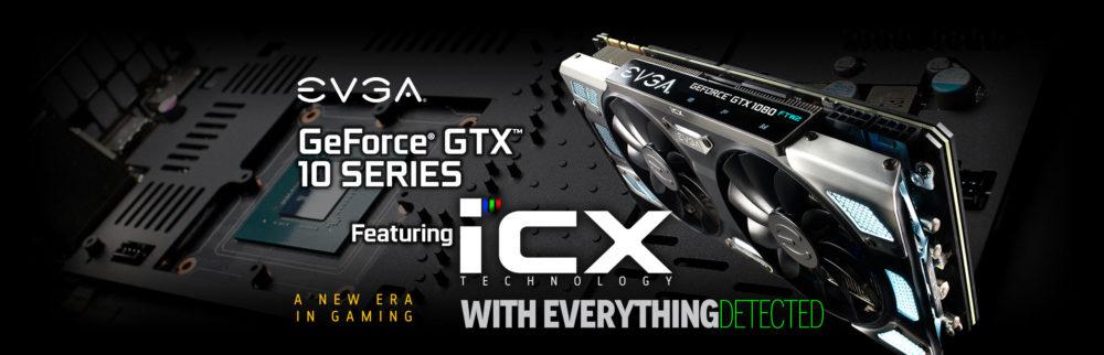 EVGA lanza diez modelos GeForce GTX con la tecnología ICX