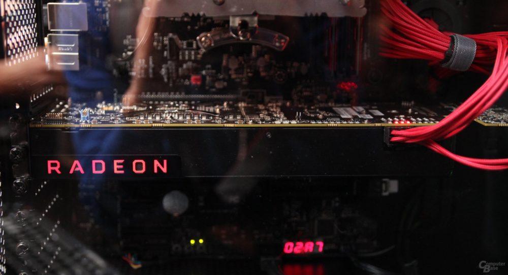 Fotografías de AMD Radeon Vega y presentación en vídeo de Ryzen 7