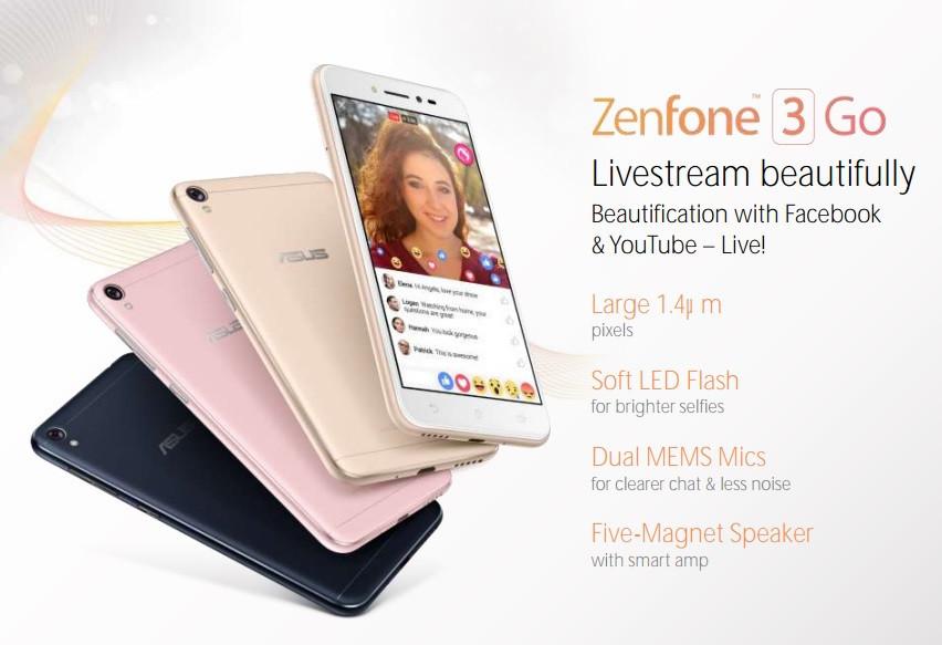 ASUS se encuentra trabajando en el ZenFone 3 Go