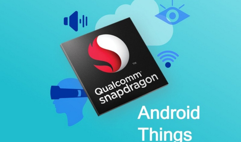 Qualcomm Snapdragon 210 obtiene soporte para Android Things