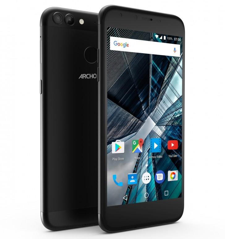 Archos anuncia dos nuevos smartphones económicos el 55 y 50 Graphite