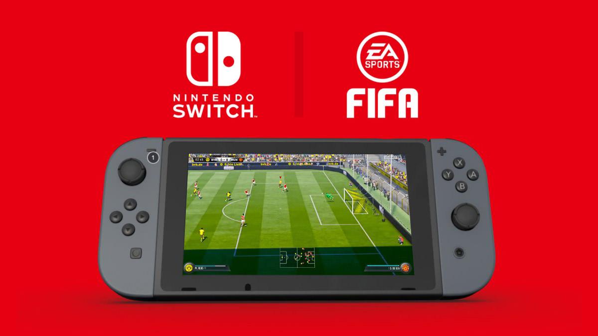 FIFA 18 confirmado para Nintendo Switch