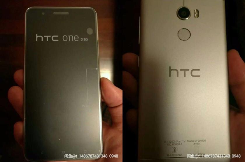 HTC One X10 aparece en una nueva fotografía filtrada