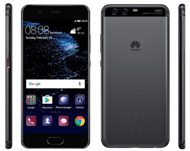 Render de prensa oficial muestra al buque insignia Huawei P10