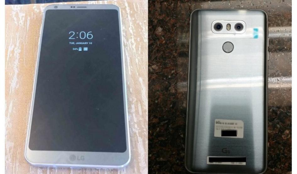 LG G6 tendrá doble cámara de 13 MP en su parte trasera