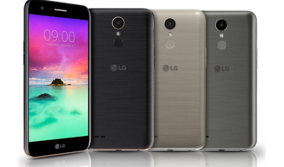 LG K10 2017 lanzado en la India a un precio de 209 dólares