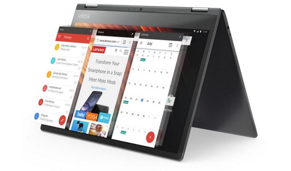 Lenovo presenta una tablet asequible con teclado Halo
