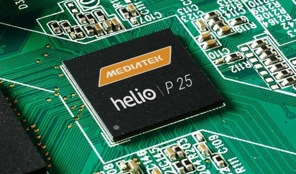 MediaTek presenta el SoC Helio P25 dirigido a smartphones ultrafinos
