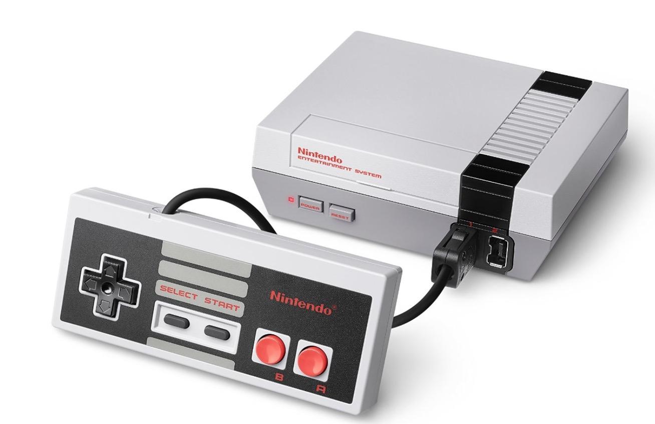 Nintendo logra vender más de 1,5 millones de consolas NES Classic Mini