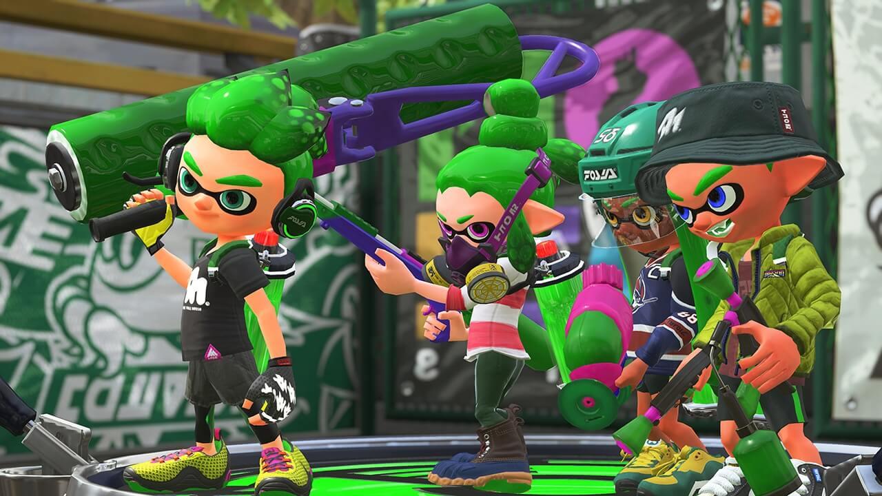 La beta de Splatoon 2 llegará a Nintendo Switch a finales de Marzo