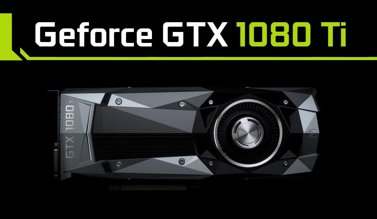 La Nvidia GeForce GTX 1080 Ti saldrá a la venta en Marzo