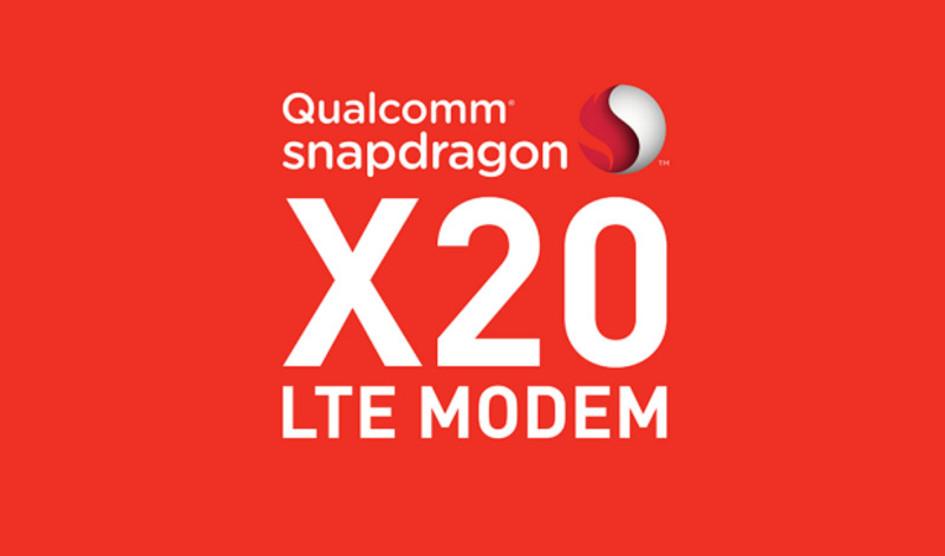 Qualcomm presenta su nuevo modem de alta velocidad Snapdragon X20 LTE