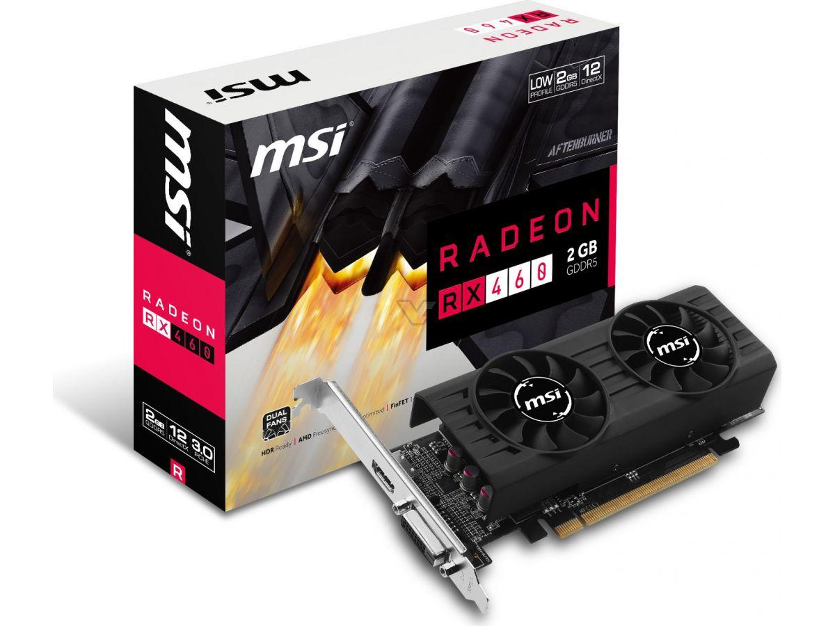 MSI lanza una Radeon RX 460 de perfil bajo