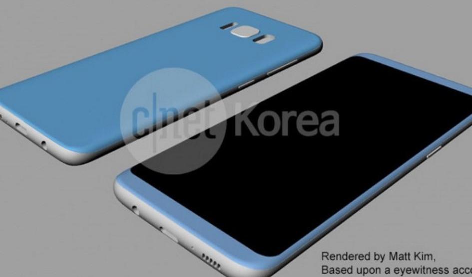 Samsung Galaxy S8 y S8 Plus diseño como dimensiones filtrados