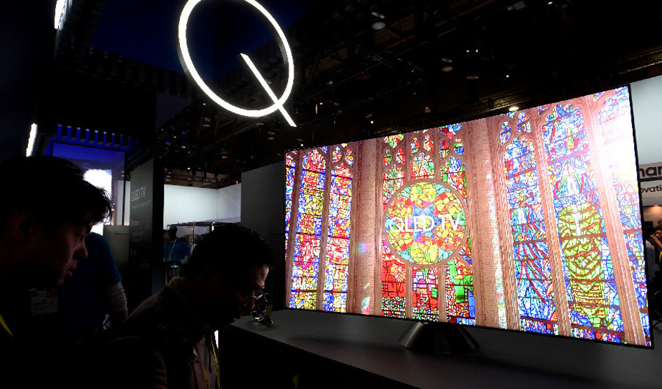 Los nuevos televisores QLED de Samsung comienzan con 2500 dólares