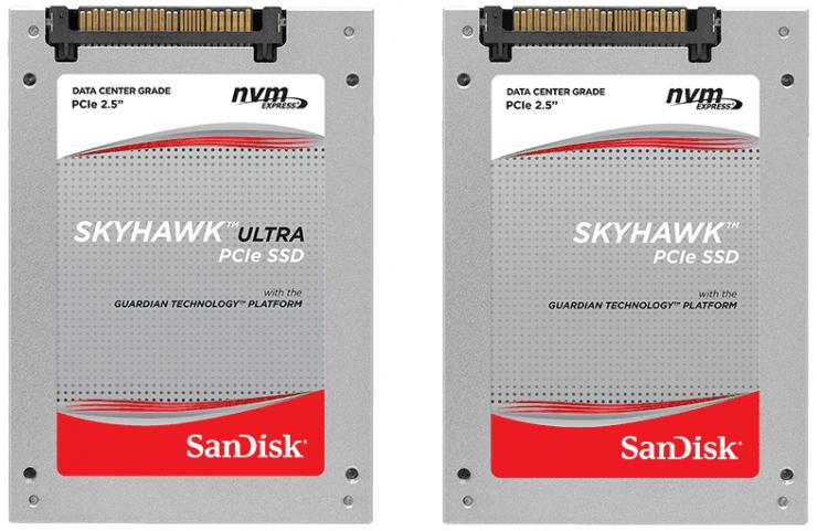 SanDisk anuncia su nueva línea de SSDs Skyhawk