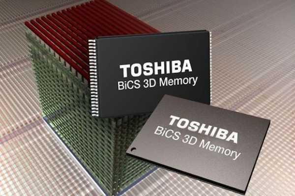 Toshiba envía muestras de memoria Flash 3D de 64 capas y 512 gigabits
