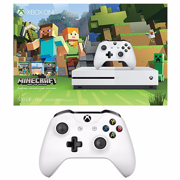 Xbox One S de 500 gb con mando adicional por 249,99 dólares