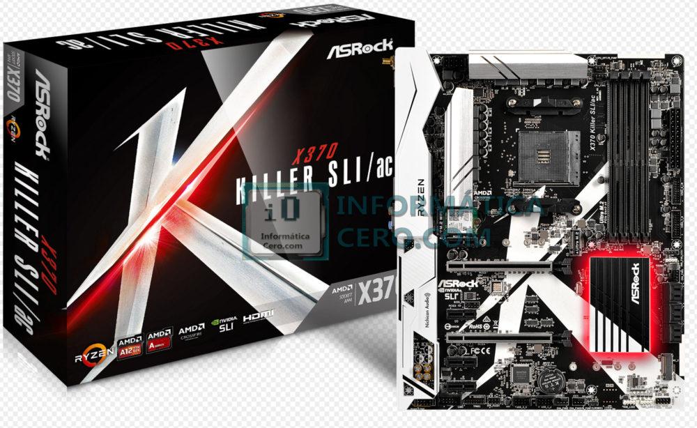 ASRock X370 Killer SLI/ac y AB350 Gaming K4 presentadas en imágenes