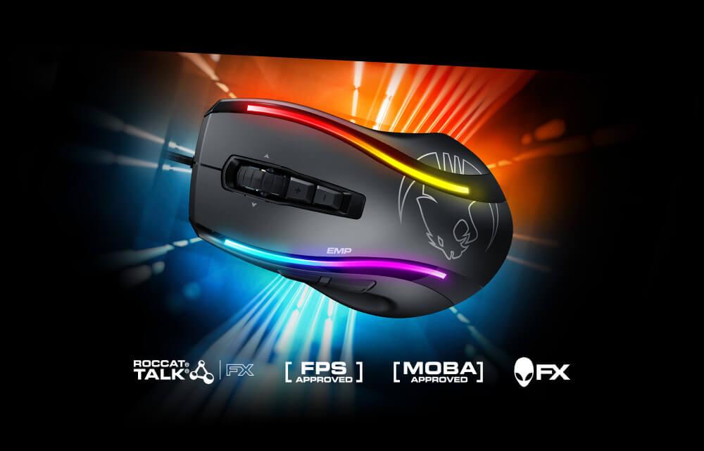 ROCCAT Kone EMP, nuevo ratón para gamers
