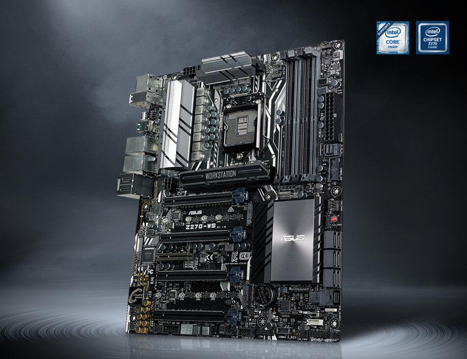 ASUS presenta la placa Z270-WS para Workstation