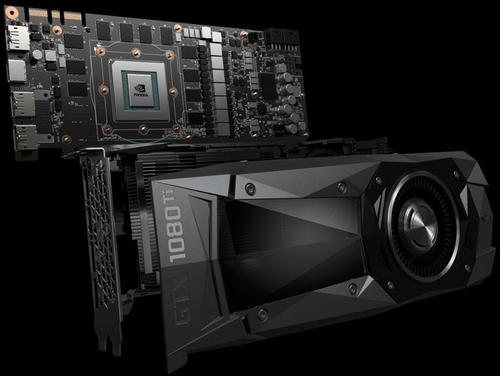 Nvidia presenta Pascal GP102-350 de GeForce GTX 1080 Ti