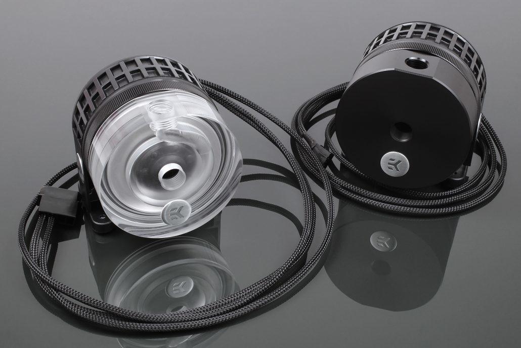 EK Water Blocks presenta bombas EK-XTOP Revo D5 PWM con manguito