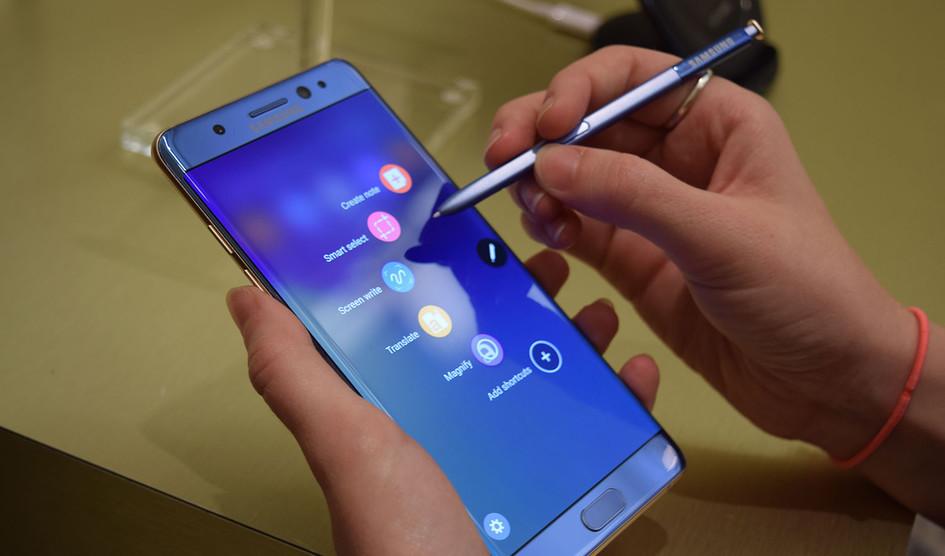Samsung podría lanzar un Galaxy Note 7 reacondicionado en Corea del Sur