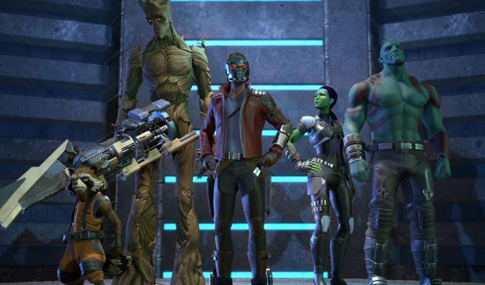 El juego de Los Guardianes de la Galaxia de Telltale llegará en primavera