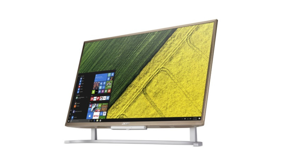 Los PCs All in One Acer Aspire C22 y C24 ya se encuentran a la venta