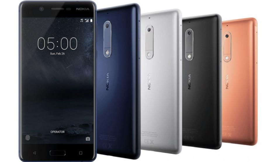 Todos los smartphones Nokia estarán disponibles en el segundo trimestre