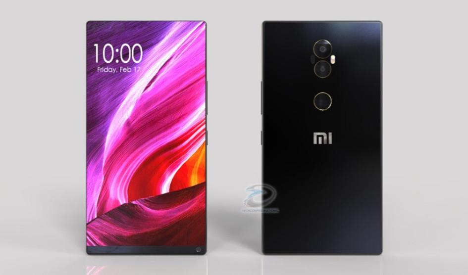 Xiaomi Mi Mix 2 mostrado en diversos renders luce impresionante