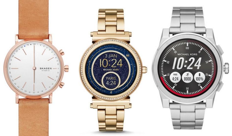 Fossil lanzará más de 300 relojes híbridos y con pantalla táctil en 14 marcas
