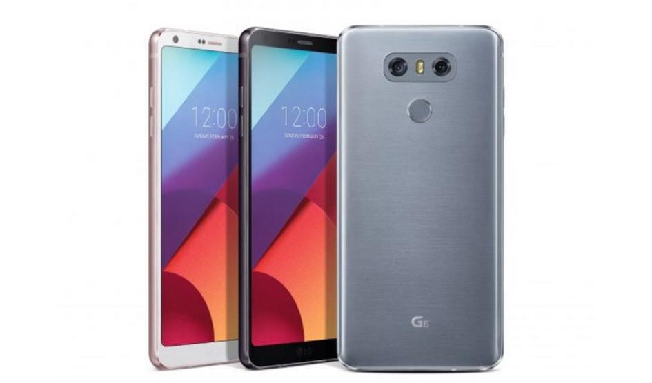LG G6 desbloqueado será lanzado pronto en los EE.UU.