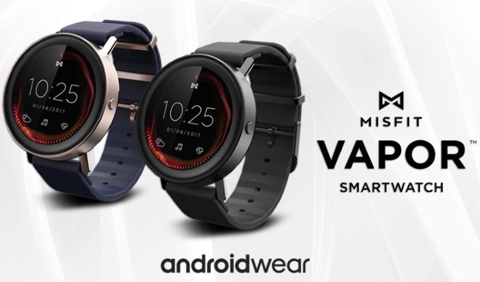 Misfit confirma su smartwatch Vapor basado en Android Wear 2.0