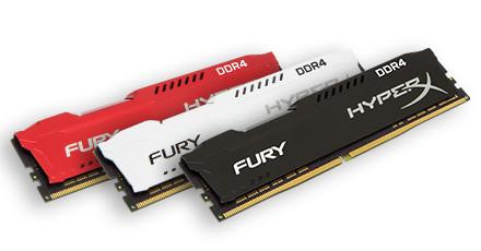 HyperX amplía su línea de productos de memoria Fury DDR4
