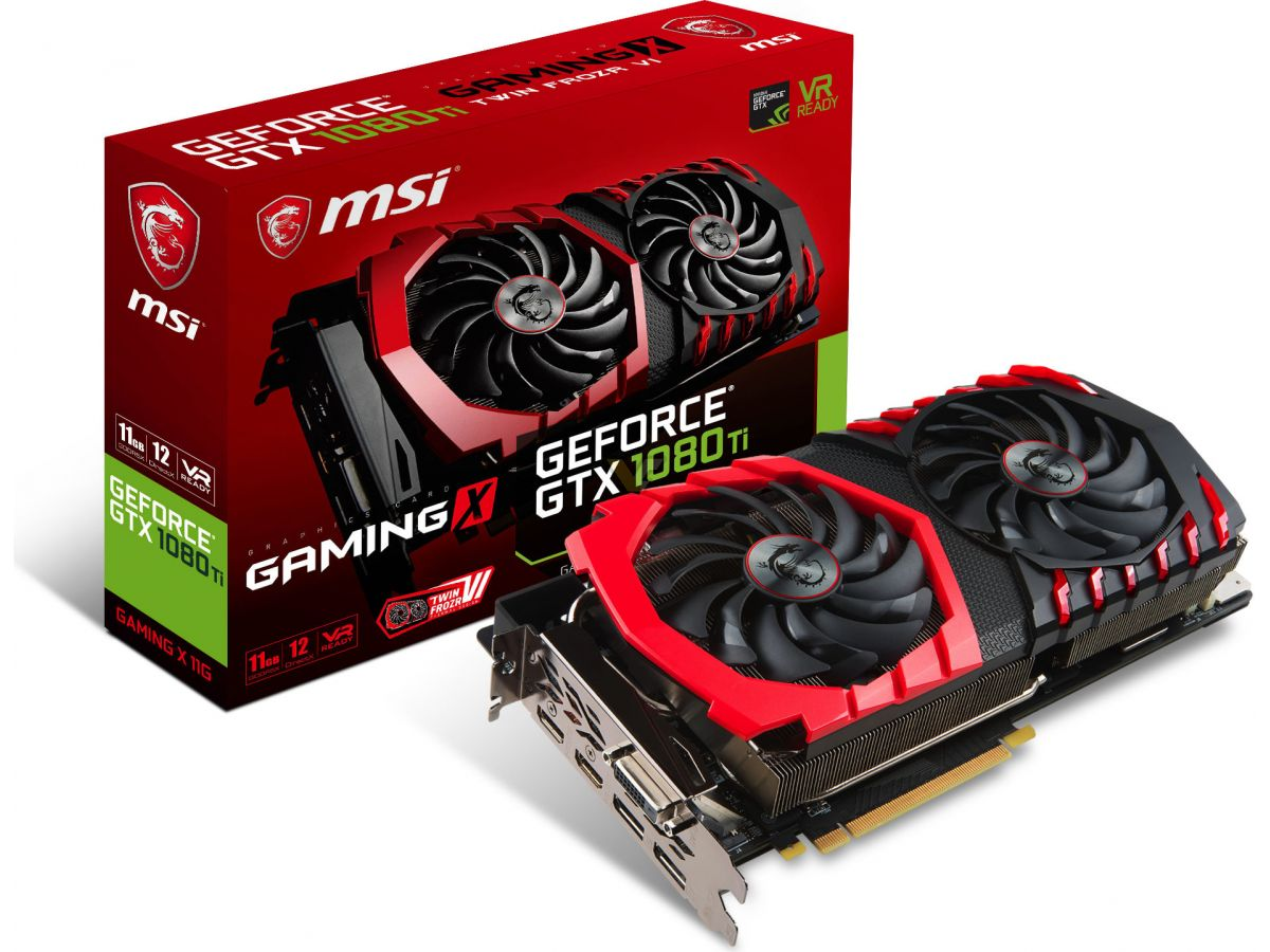 MSI presenta GeForce GTX 1080 Ti GAMING X