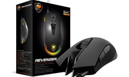 """Cougar lanza el ratón gaming óptico RGB """"Revenger"""""""