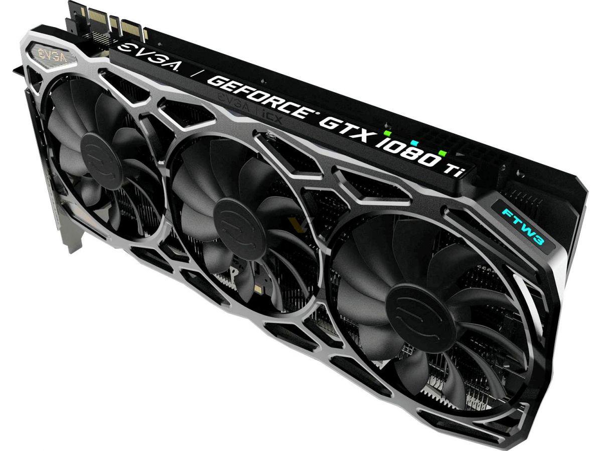 EVGA confirma las especificaciones de GTX 1080 Ti SC, SC2 y FTW3