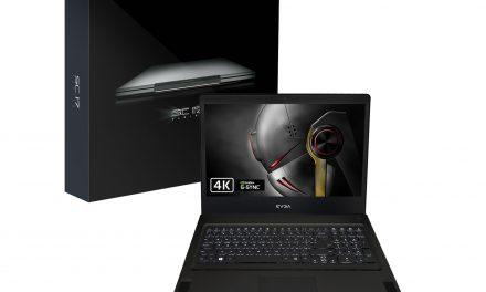 EVGA anuncia el portátil gaming SC17 con tecnología NVIDIA G-SYNC