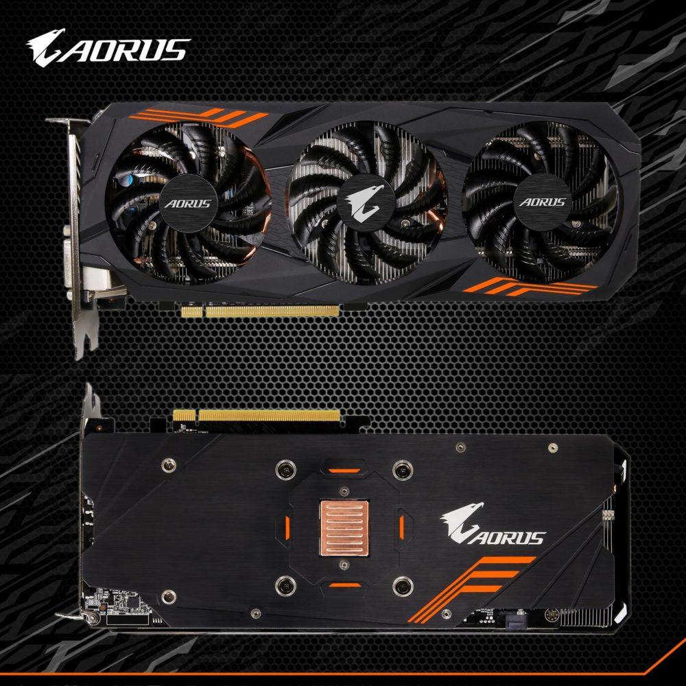 GIGABYTE GeForce GTX 1060 AORUS avistada
