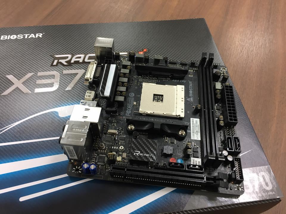 Biostar muestra la primera placa base mini-ITX X370